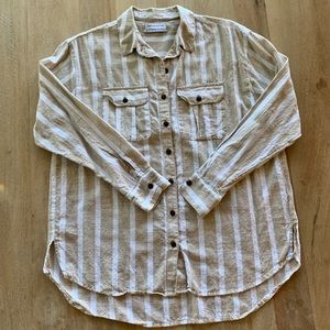 Urban Outfitters cotton shirt, beach cover ups